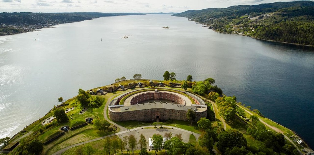 Unique hotel Oscarsborg Castle, Norway