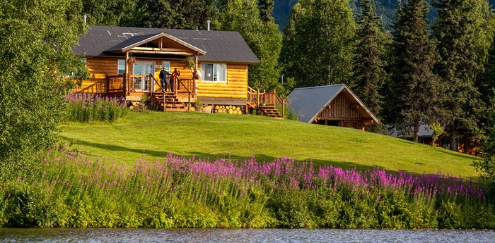 Unique hotel Winterlake Lodge, United States