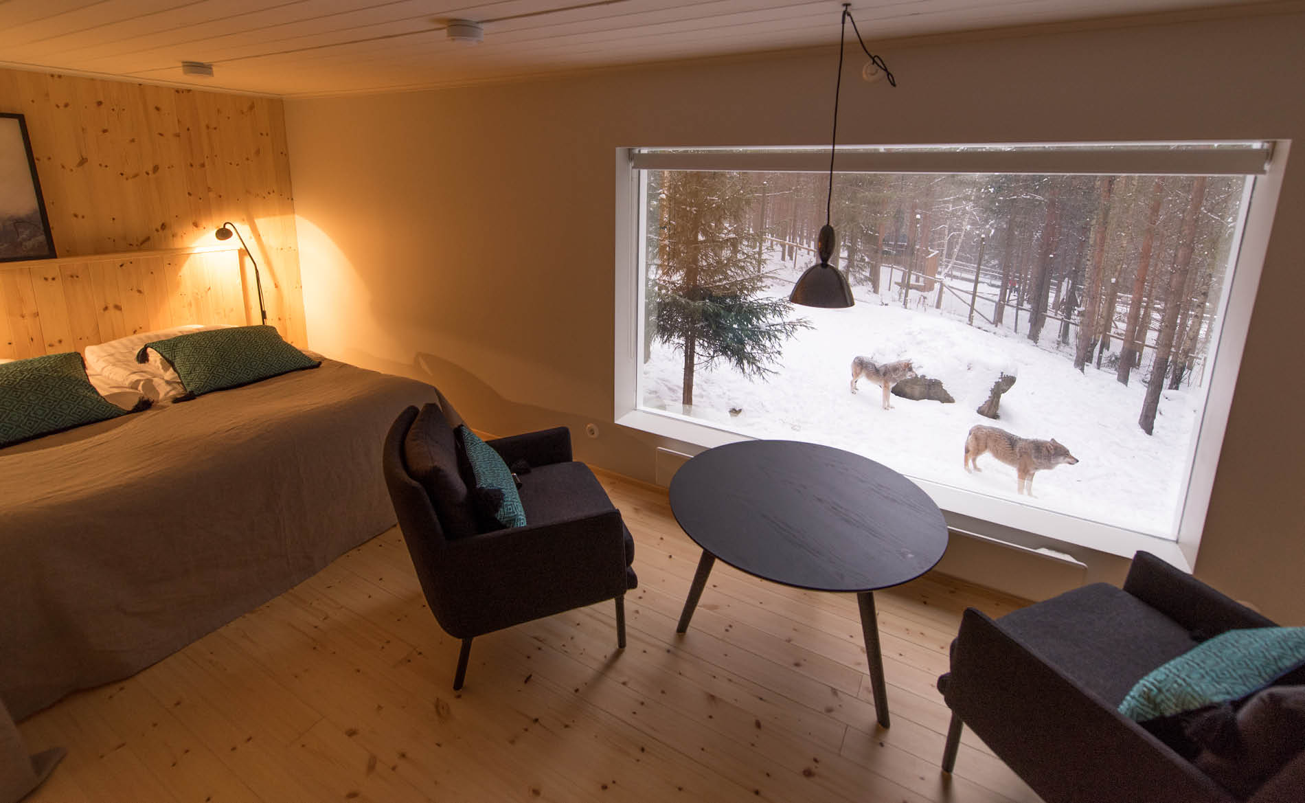 Unique hotel Jarvzoo Wolf Hotel3, Sweden