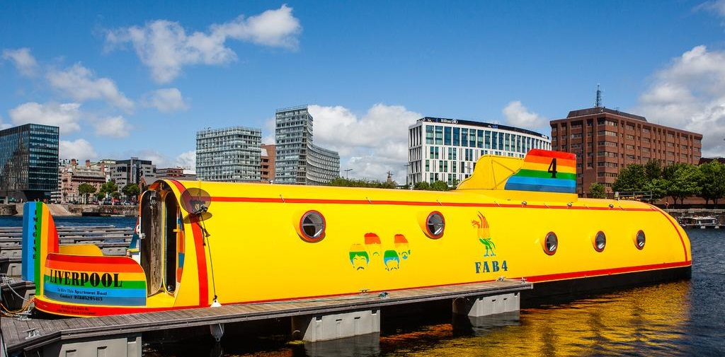 Unique hotel Yellow Submarine, United Kingdom